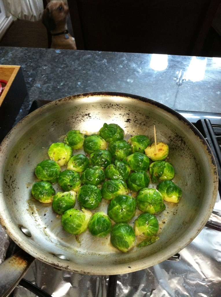 brussel sprouts done