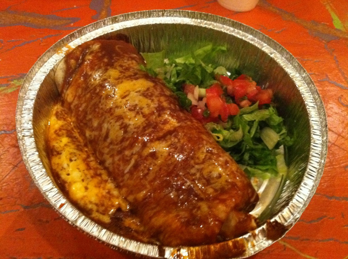 Cafe Rio Sweet Pork Barbacoa Burrito