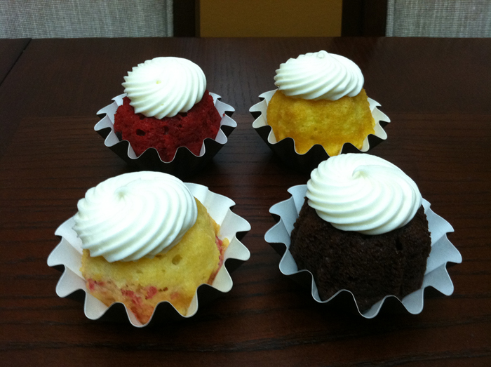nothing bundt cake cupcakes