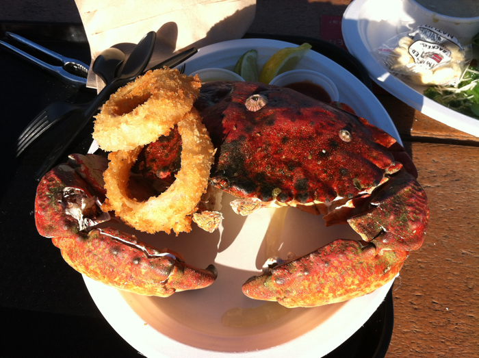 Santa Barbara Shellfish Company Rock Crab