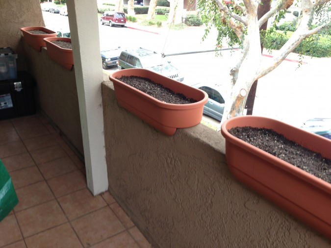New Balcony Garden