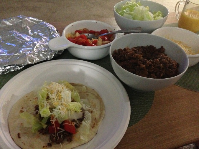 taco tuesday meal