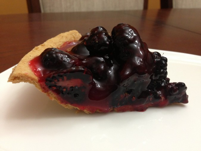 olallieberry pie