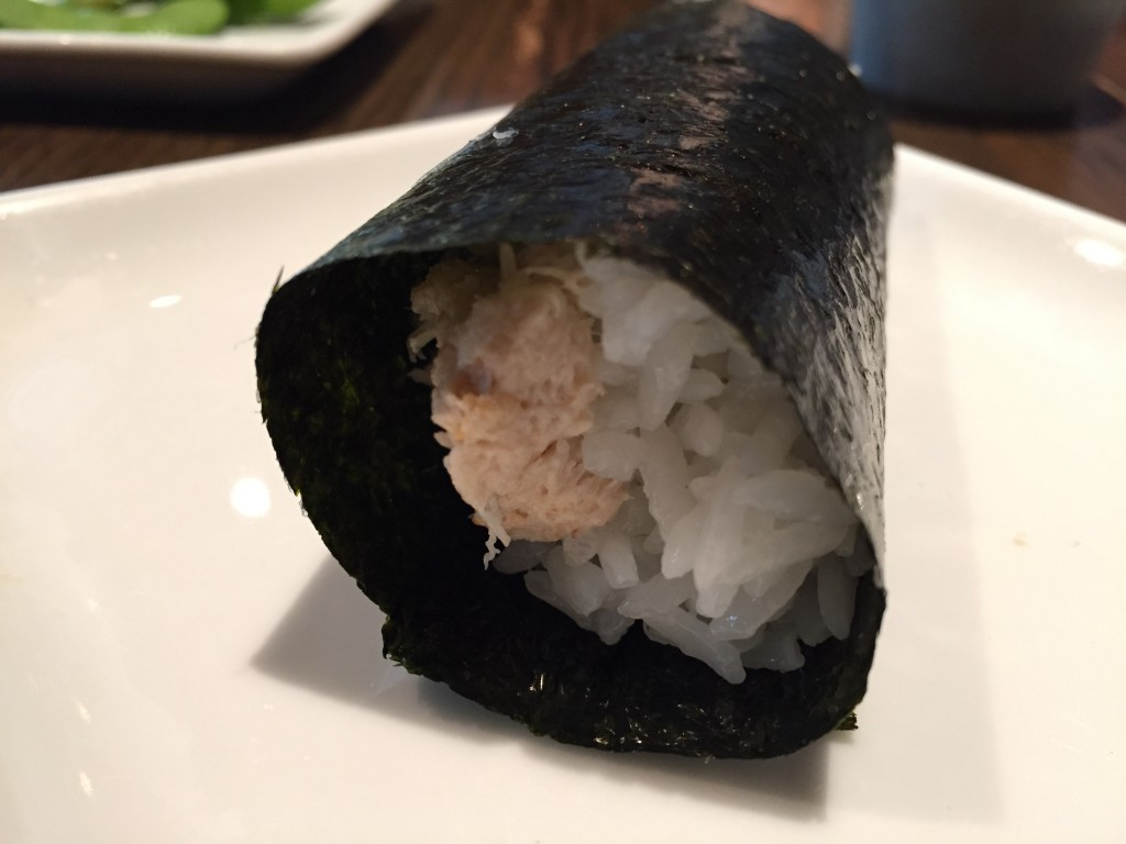 Sugarfish Blue Crab Hand Roll