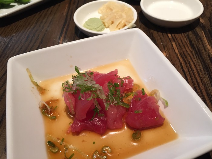 Sugarfish Tuna Sashimi