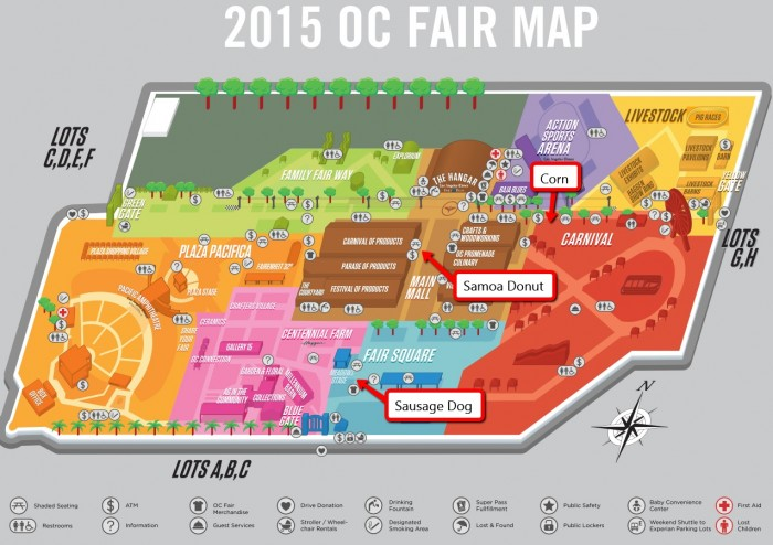 oc fair 2015 food review map