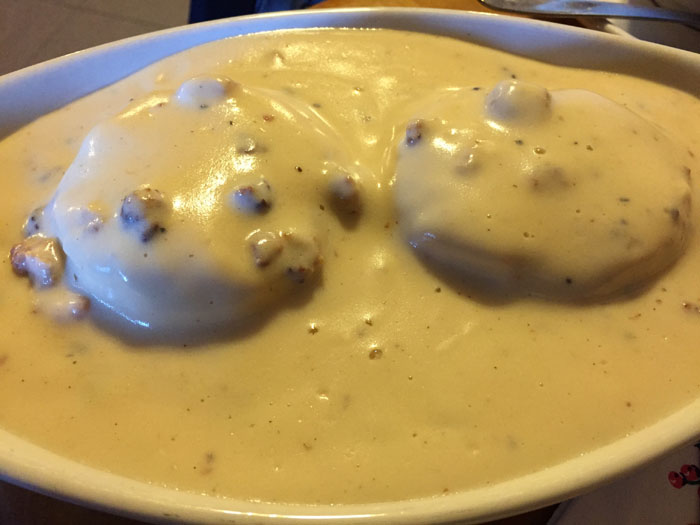 The Original Pancake House Biscuits and Gravy