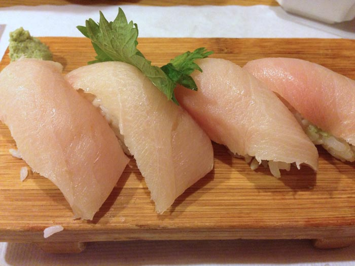 akasaka yellow tail sushi