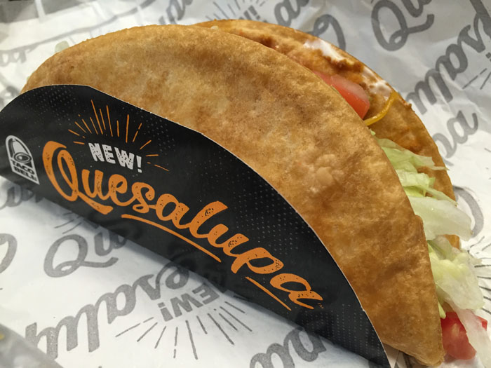 Taco Bell New Quesalupa