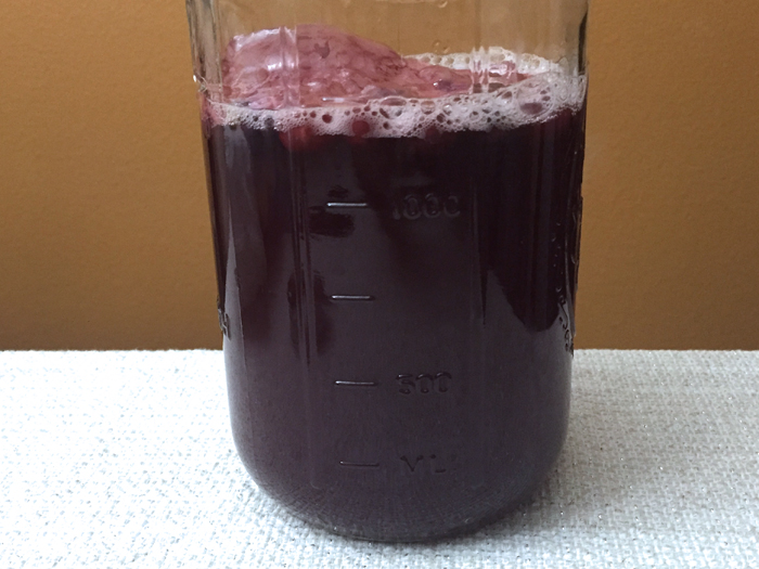 how to make kombucha blueberry