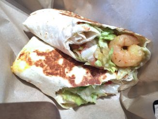 taco bell shanghai shrimp and avocado burrito