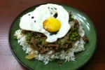 Minced Beef With Egg Over Rice